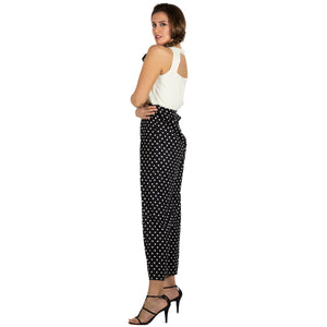 Multi Polka Dot Jumpsuit