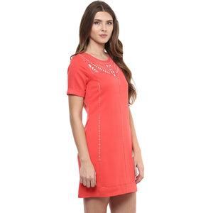 Pink Front Design Tunic
