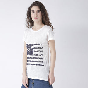 Birch Printed Basic T-Shirt
