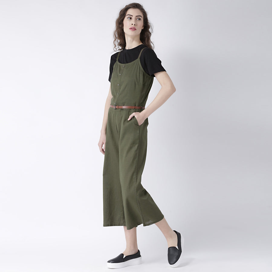 Olive Jumpsuit without Top