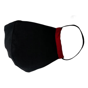 109°F Designer Washable Face Mask Black/Red