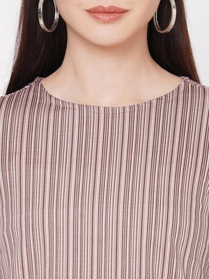 Purple Stripes Top