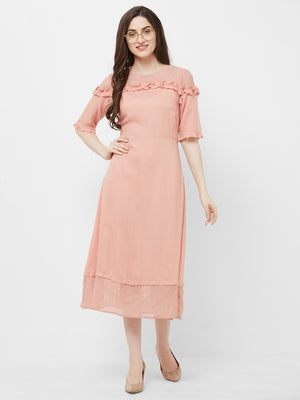 Blush Long Dress