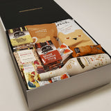Dairy Free Bailey Almande gift hamper with baileys, nuts, cookies, popcorn, lollies & chocolate.