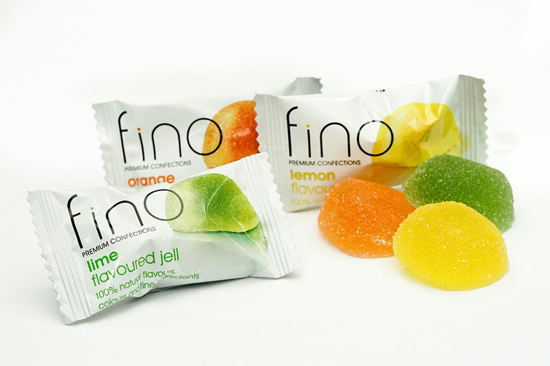Fino fruit citrus jells/ lollies