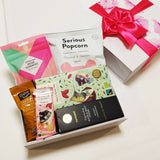 Gluten Free & Dairy Free Gift Box for Her with chocolate, hand cream, lollies and bliss ball