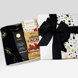 Dairy Free & Gluten Free Gift hamper presented in a gift box.