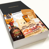 Gluten Free & Dairy Free Gift Hamper with Appletons Rum, Chocolate & Nuts & Popcorn.