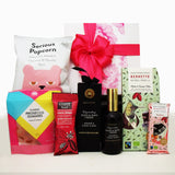 Gluten Free & Dairy Free Gift Box for Her with chocolate, hand cream, lollies and bliss balls.