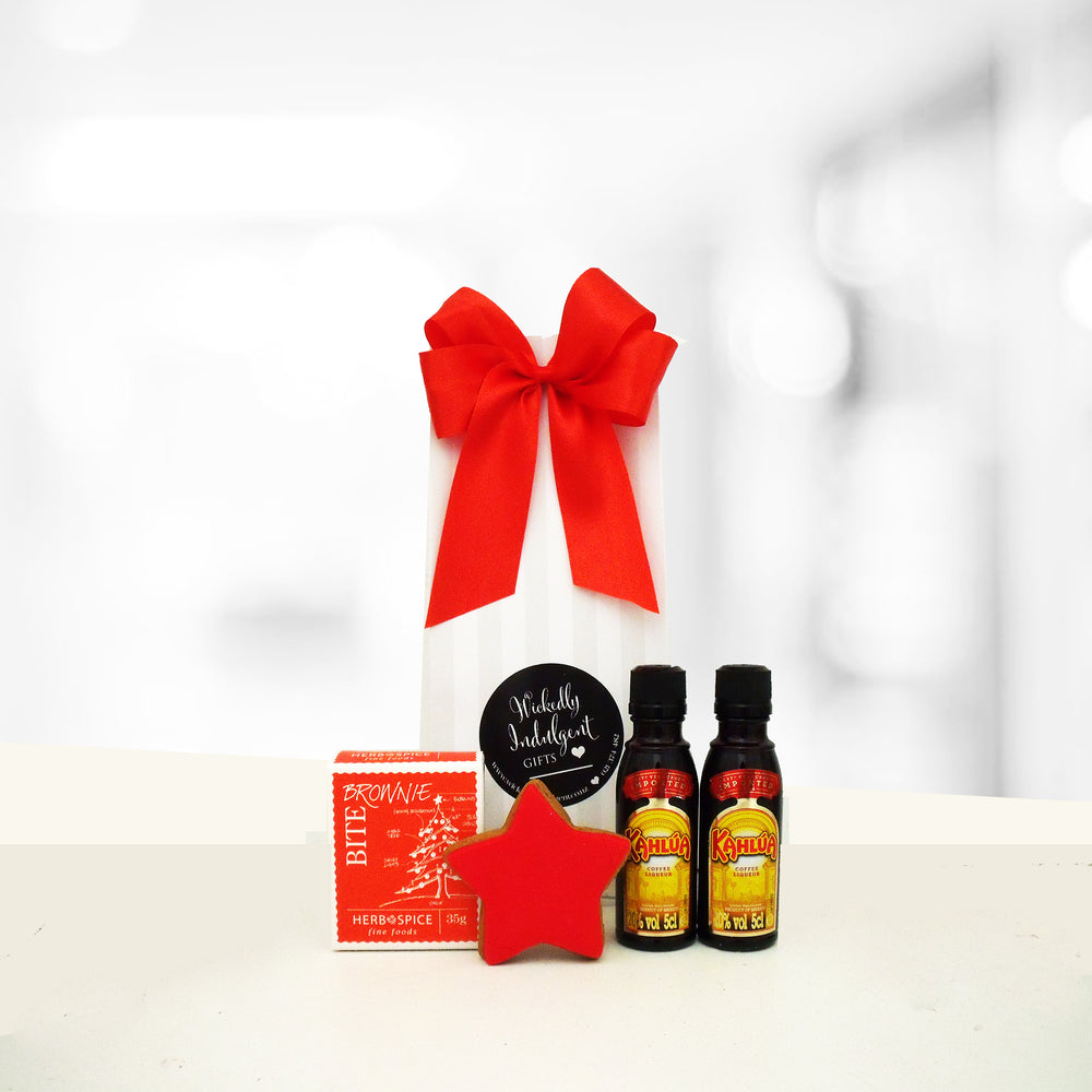 8x Have a Tipple Xmas Gift Bags- You choose Bombay Saphire Gin, Kahlua, or Jager