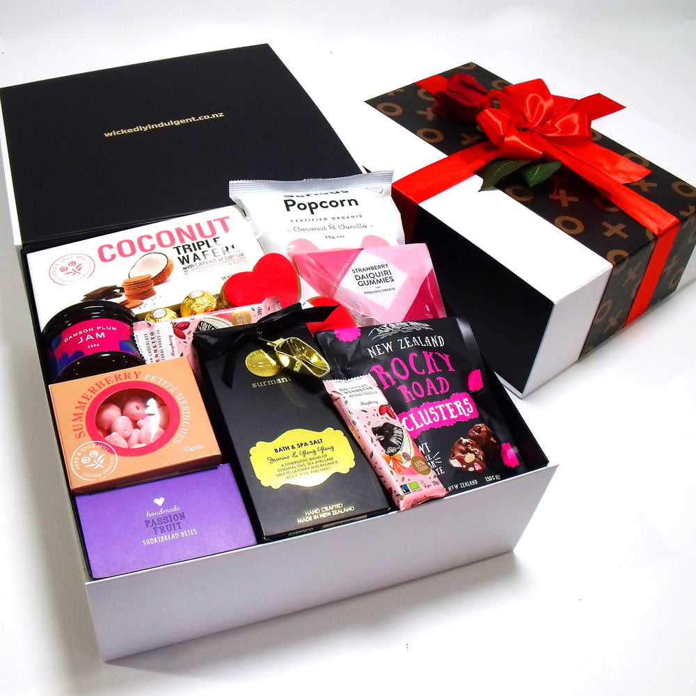 Sweets for My Sweet- Bath Salts, Chocolate, Jam & Sweets Valentines Hamper