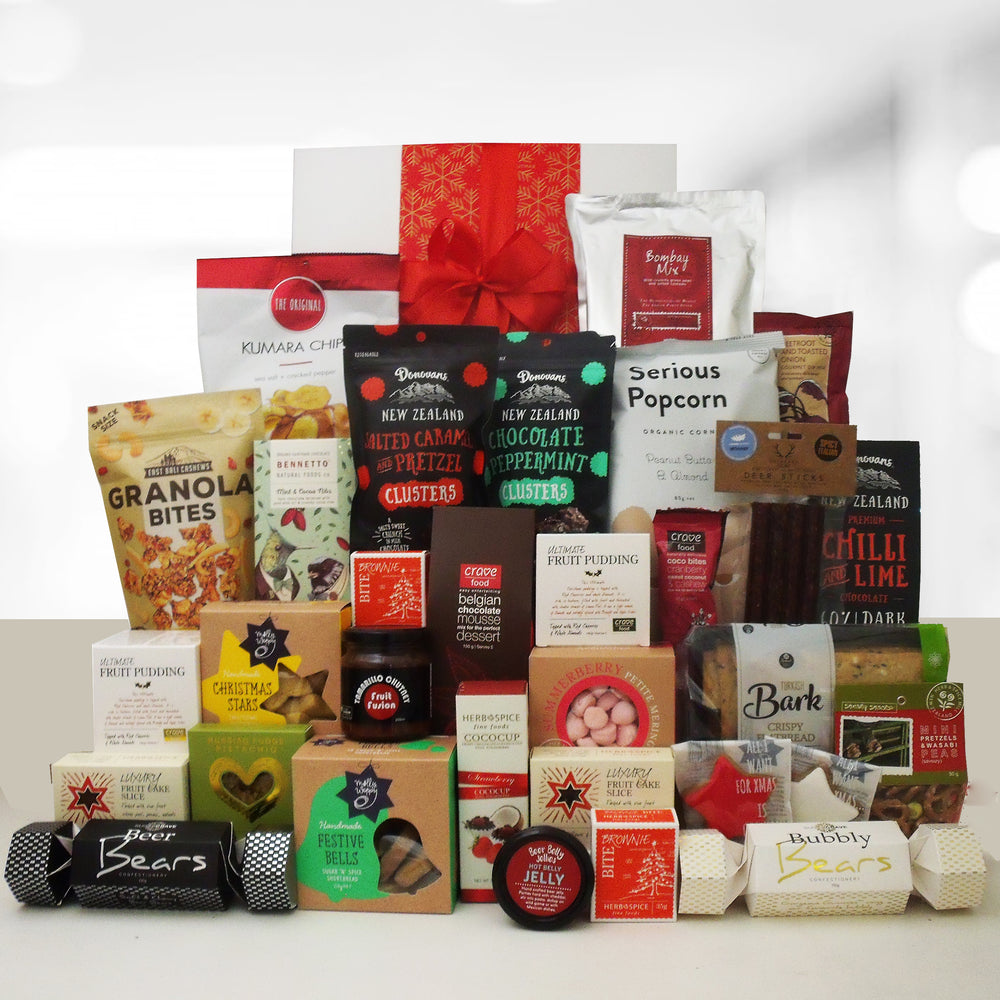 Cracker of a Christmas- Large non alcoholic gift hamper for a corporate gift.