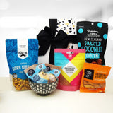 Snack Attack- Bowl, Chocolate, Lollies & Cookie Gift Hamper