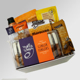 Ginger ninja alcoholic ginger beer and nibbles gift box.