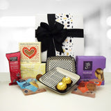Afternoon Tea Treats -Plates, shortbead and bliss balls gift box