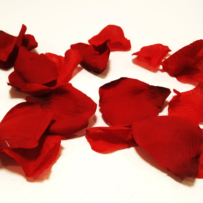 Red Rose Petals- Artificial