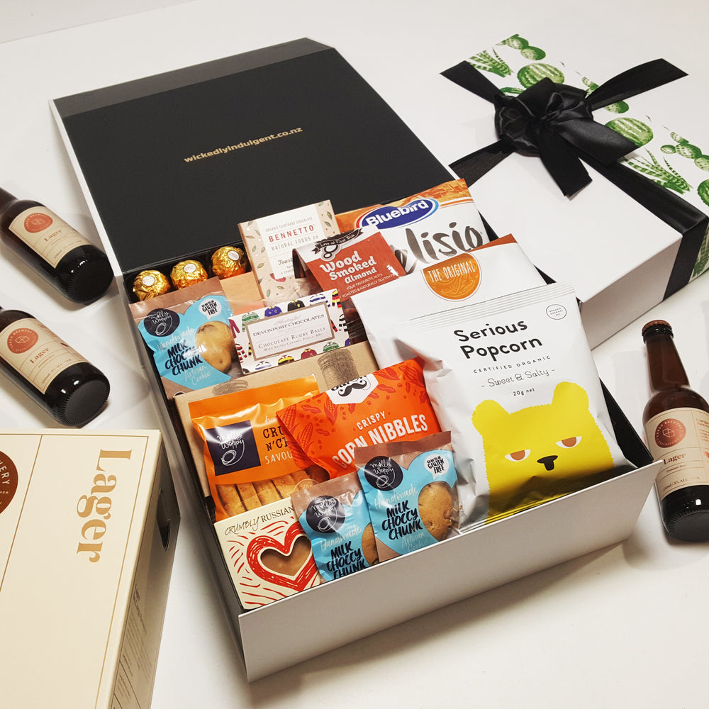 Ultimate Dad- Beers, BBQ Sauces & Bites Fathers Day Gift Hamper