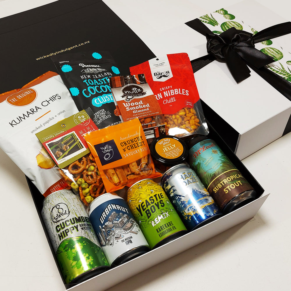 Who Beers Wins Craft Beer Gift Box for Fathers Day
