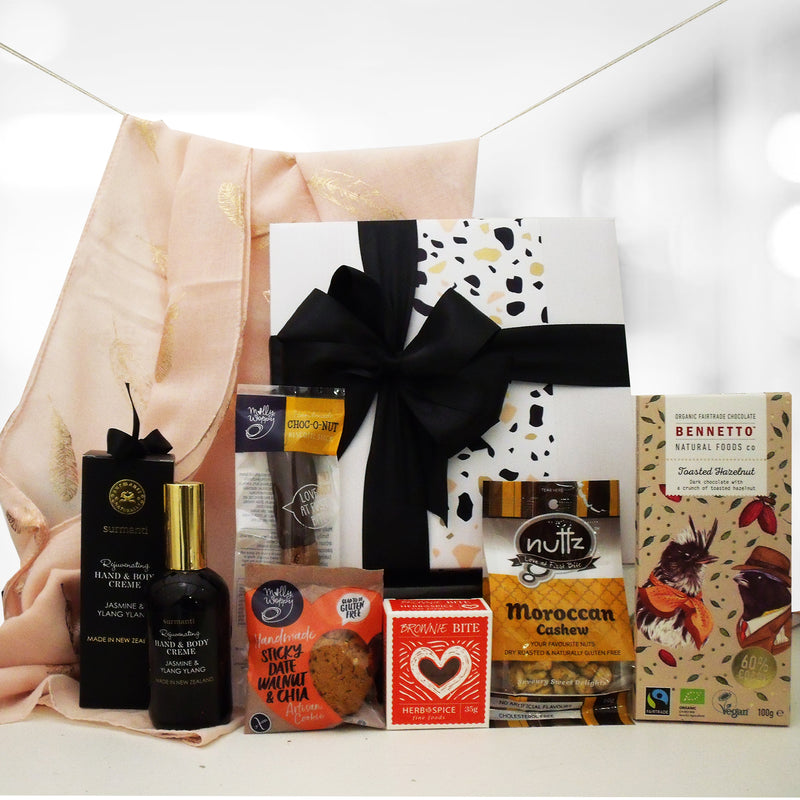 You Go Girl- Scarf, Hand Cream & Chocolate Gift Box