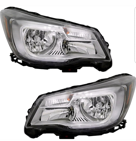 Subaru Forester 17-18 Headlights (Halogen & Led)