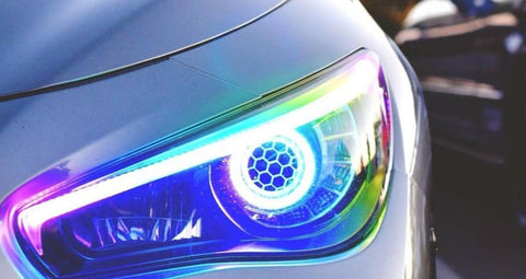 Infiniti Q50 14-17 Headlights