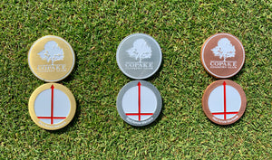 Red Arrow Logo Ball Markers