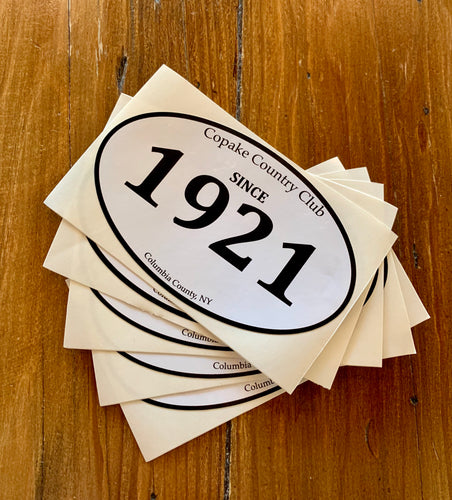 Sicne 1921 Sticker 5-pack