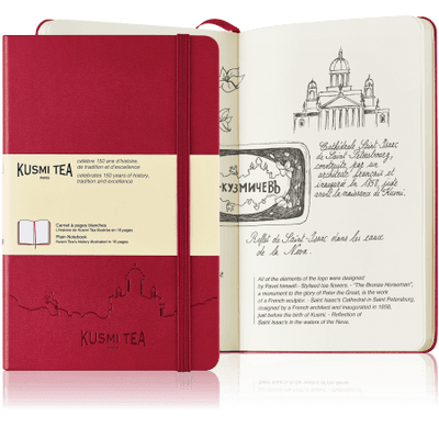 Moleskine Notebook - Kusmi Tea 150 years