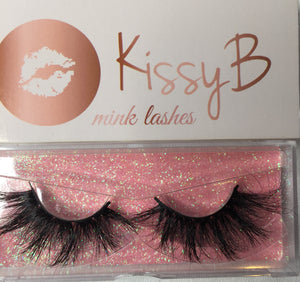 KissyB mink lashes 25mm 815