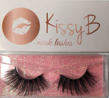 Load image into Gallery viewer, KissyB mink lashes 25mm LL19