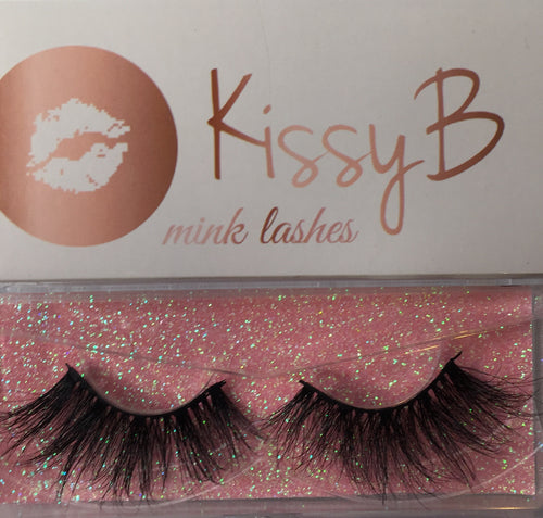 KissyB mink lashes 25mm (814)