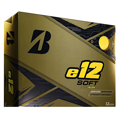 Bridgestone e12 soft – yellow matt
