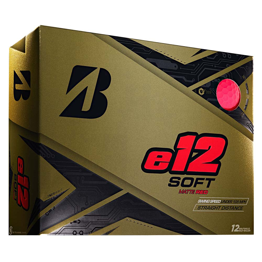 Bridgestone e12 soft – red matt