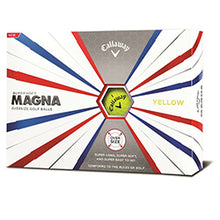 Callaway MAGNA Supersoft yellow