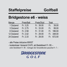 Bridgestone e6 - white