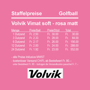 Volvik Vimat soft rose matt