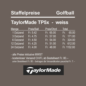 TaylorMade TP5x white