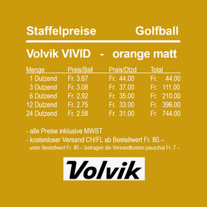 Volvik Vivid orange