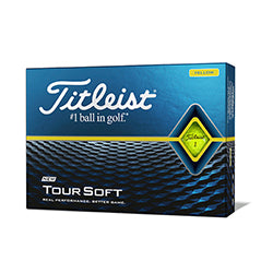 Titleist Tour Soft 20 gelb