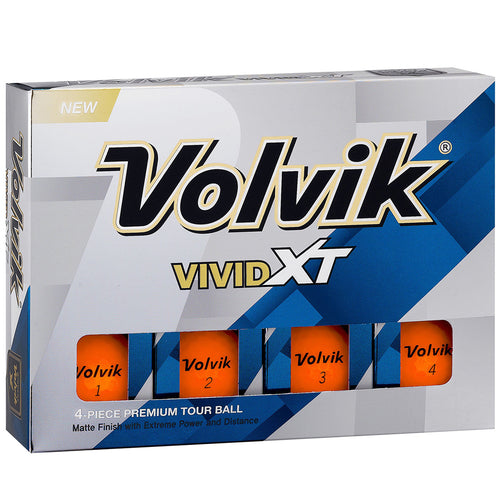 Volvik Vivid XT orange matt
