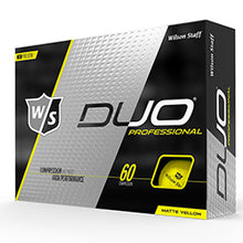 Wilson Staff DUO Professional yellow matt
