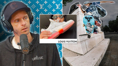 LOUIS VUITTON IS MAKING A SKATE SHOE!? How Much Will It Cost??