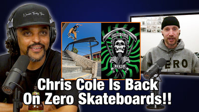 Chris Cole Back On Zero Skateboards!! - Jamie Thomas Talks About How It Happened