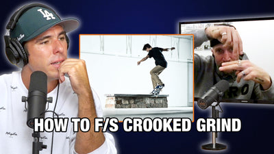 Jamie Thomas Explains The Secret To Frontside Crooked Grinds!