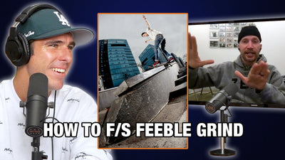 Jamie Thomas Teaches Us How To Frontside Feeble Grind!