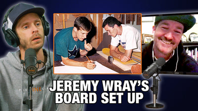 What's Jeremy Wray's Board Setup?