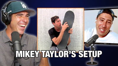 What's Mikey Taylor's Board Setup?!
