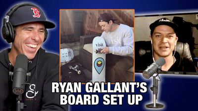 What's Ryan Gallant's Board Setup?