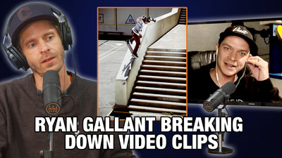 Ryan Gallant Talks About His Kickflip Back Noseblunt Down Clipper And More!