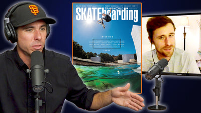Walker Ryan Switch Tre Flips The Water Gap For The Cover Of Transworld!!